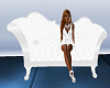 ~D~ Elegant White Chaise