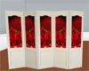 Red Rose Room Divider