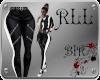 BIR]Biker Pants*b-w*