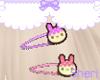 Kawaii Bunny Hairclips