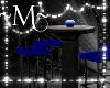~M~ Club Table Blk&Blu