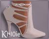 K dusty pink heels
