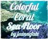 Colorful Coral Sea Floor