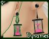 *Dy} Hourglas Earrings.3