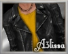*MA* leather jacket