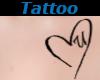 Tattoo Chest U Heart