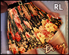 !D Floral Pleated RL