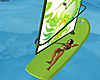 Animated Wind Surfing