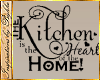I~Kitchen Heart Decal