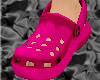 *CROCS Pink Shoes