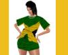 IRIE REGGAE FLAG DRESS