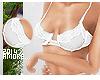 $ Fashion Bra:White Love