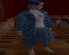 Multi-blue SweaterJacket
