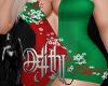 snowflake dress L