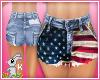 !B! American High Shorts