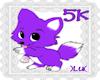 )LU( 5k Support Sticker