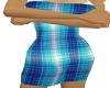 sparkel blue dress
