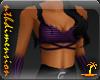 Halter Top & Glvs Purple
