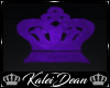 ~K Crown Rug - DERIVE