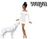 waya!~White~Wolf~Dress~