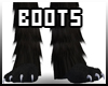 [B] Black Pawboots (M)