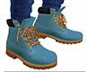 Light Blue Work Boots M