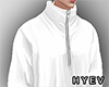 White TrackSuit Top
