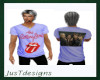 JT Rolling Stones Tee M