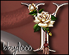 Deco Rose Sticker (Y)