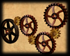 Steampunk- Animated Cogs