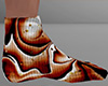 Halloween Swirl Sock 12M