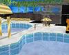 villa con piscina-pool