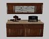 Cabinet w/ coffee maker