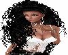 Curly Big Black Ponytail