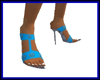Blue Sandal Pump