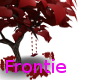 valentines tree w/swing