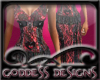 ! Sexy Red N Black Dress