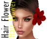 Hair Flower RED