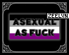 Asexual Head Sign