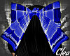 [C] Blue Lolita Bow|
