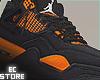 Retro Orange Thunder