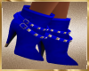 A59 Blue Buckle Boots