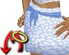 Blue Leaf Skirt