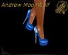 Couture Shoes Blue