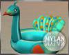 ~M~ Peacock Floatie 40%