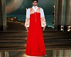 Red Clergy Robe Cassock