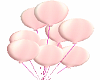 Hold Pink Balloons