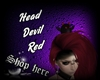 Head Devil Red