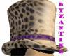 Cheetah top hat