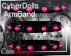 CyberDoll ArmBand Pink